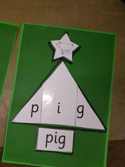 Christmas tree word