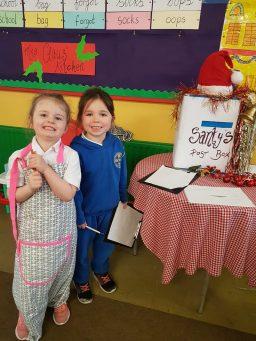 organising letters for Santa