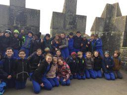 C.B.S pupils at Bunratty